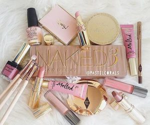 fashion, makeup, and lipstick image
