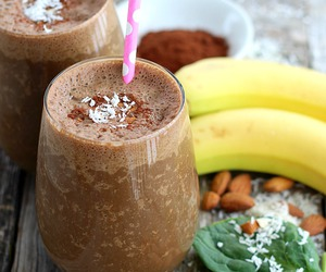 smoothie, drink, and food image