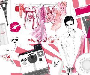 emma watson and fashion image