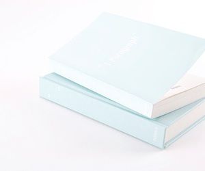 book, blue, and pastel image