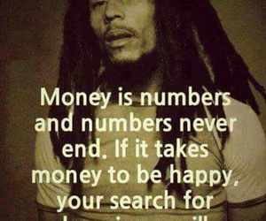 money, quotes, and happiness image