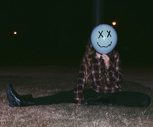 grunge, indie, and balloon image