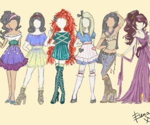 disney, princess, and alice image