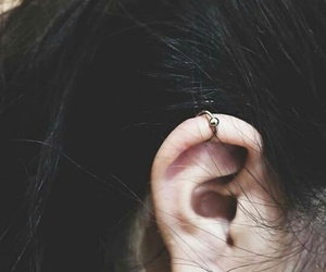 ear, first, and hair image