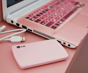 pink, phone, and lg image