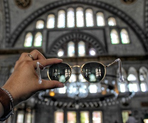 ask, rayban, and bluemosque image