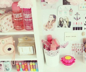 pink, girly, and room image