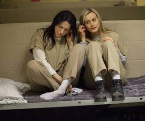 orange is the new black, alex vause, and piper chapman image