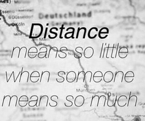 distance, friends, and love image