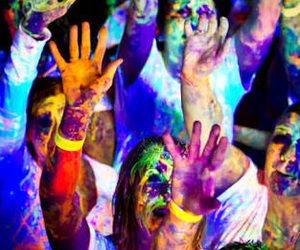 color, funny, and party image