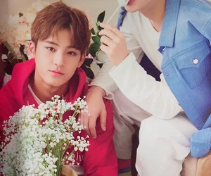 Seventeen, mingyu, and s.coups image