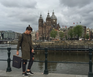 amsterdam, fashion, and nike image