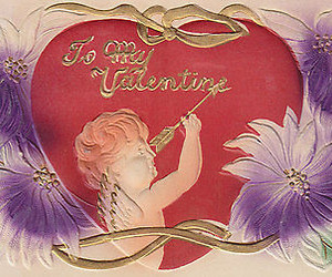 antique, valentine, and holiday image