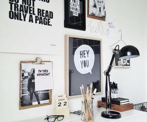 decor, home, and desk image