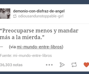frases, mierda, and tumblr image