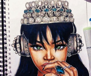 music, Queen, and rihanna image