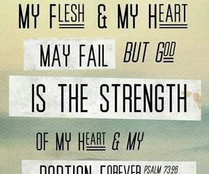 god, strength, and jesus image