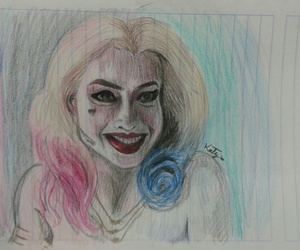 art, harleyquinn, and suicidesquad image