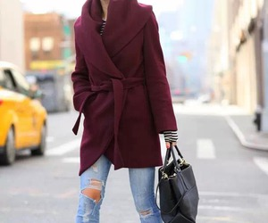 clothes, handbag, and pencil pants image