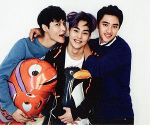 exo, xiumin, and lay image