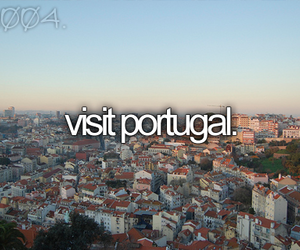 portugal, before i die, and travel image