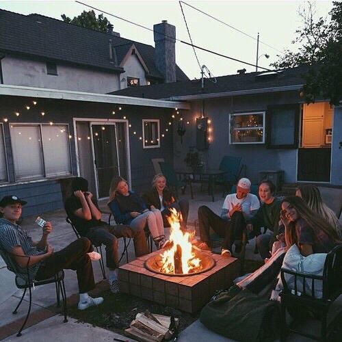backyard, james, and outdoors image