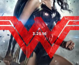 wonder woman, gal gadot, and batman v superman image