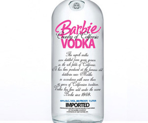 vodka, barbie, and pink image