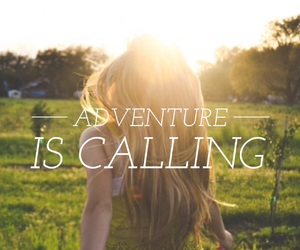 adventure, easel, and quotes image