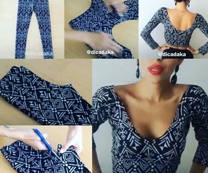 tutorial, diy, and fashion image