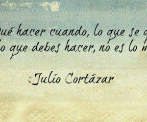 frases, julio cortazar, and love image