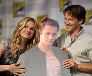 anna paquin, bill, and eric image
