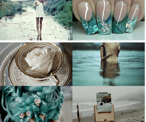 aesthetic, blue, and neptune image