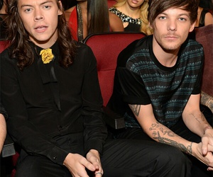 louis tomlinson, harry feels, and Harry Styles image