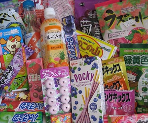food, pink, and korean food image