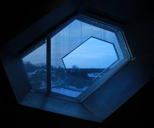 grunge, window, and blue image
