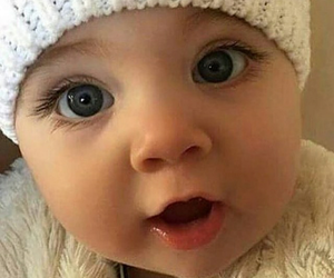 baby and eyes image