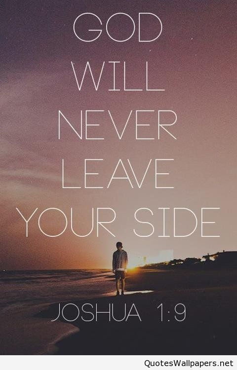 god will never leave your side iphone hd