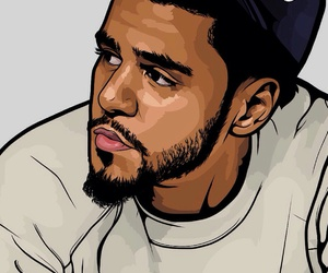art and j cole image