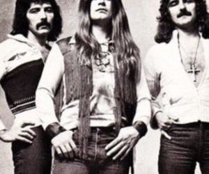 Black Sabbath, Ozzy Osbourne, and tony iommi image