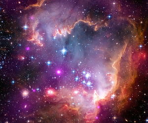 colorful, galaxy, and outer space image
