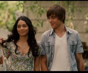 high school musical and troy and gabriella image