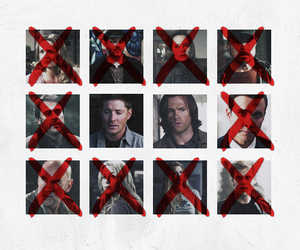 spn, supernatural, and brothers image
