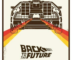 Back to the Future and delorean image