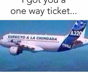 breakup, plane, and tickets image
