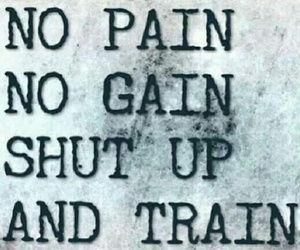 fitness, gym, and pain image