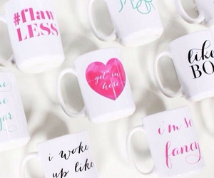 cup, love, and cups image