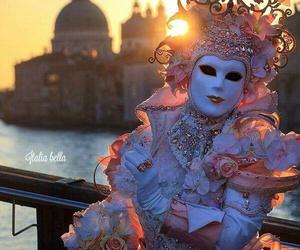 carnival, venice, and sunrise image