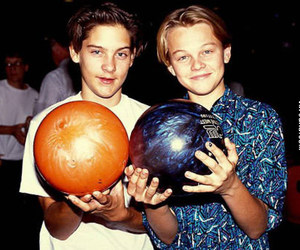 leonardo dicaprio, Tobey Maguire, and boy image