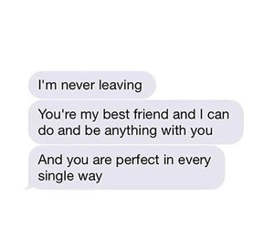 best friends, leaving, and quote image